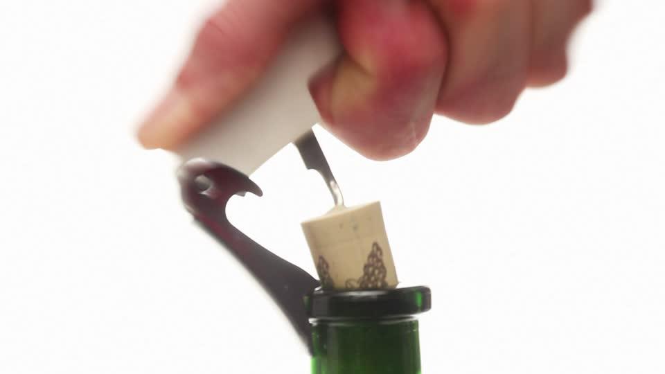art de déboucher le vin