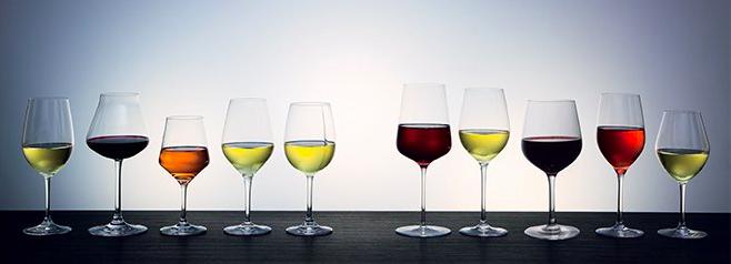 servir un vin choix verrerie