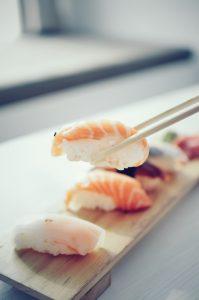 rainbow sushi ou sushi traditionnel