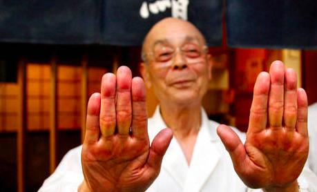 chef japonais tradition costume