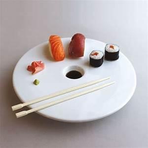 vaisselle sushis