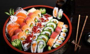 cuisine japonaise restaurant chinois sushis