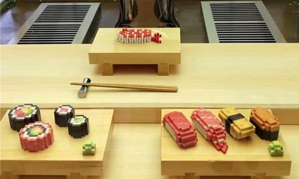 sushi imprimante 3D