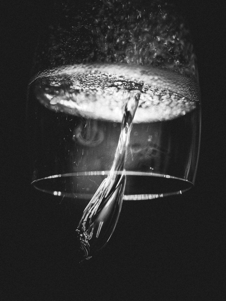 degustation vin dans le noir