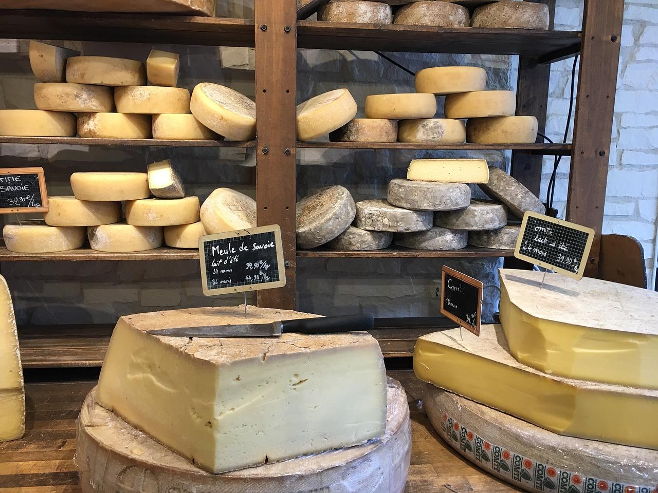 fromages au lait cru