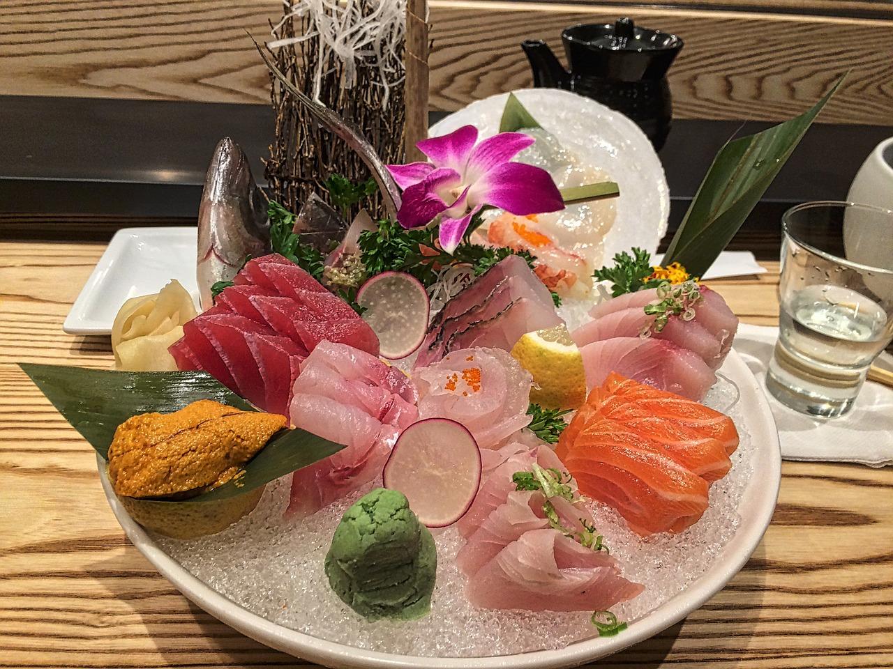 degustation sushi cuisine japonaise
